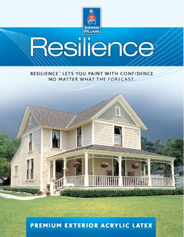 Wilmington De Professional House Painter Uses Sw Resilience Exterior Paint