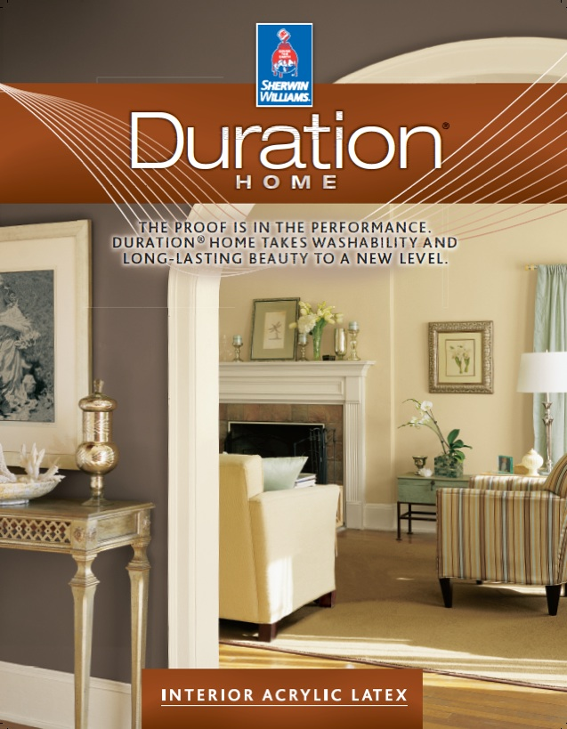Sherwin-Williams' Duration Home Acrylic Latex Interior Paint